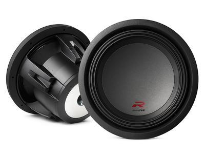 """Alpine R-Series 12"""" subwoofer with dual 2-ohm voice coils - R-W12D2"""