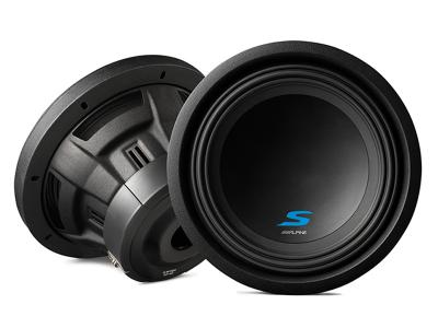 "Alpine 10"" Dual Voice Coil (4 Ohm) High Performance Subwoofers - S-W10D4"