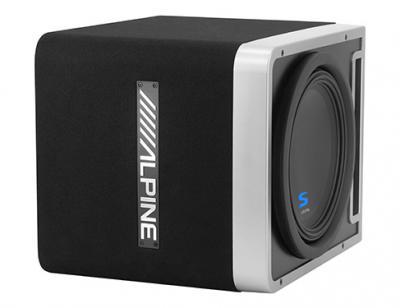 Alpine Halo S-Series Pre-loaded 12-Inch Subwoofer Enclosure - S-SB12V