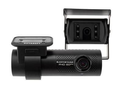 Blackvue Full HD Cloud Dashcam with Built-in GPS , Waterproof Rear Camera  - DR750X-2CHTRUCK-128