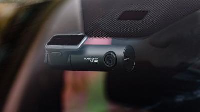 Blackvue 2-Channel , Full HD, Parking mode , External GPS Dashcam - DR590X-2CH-32