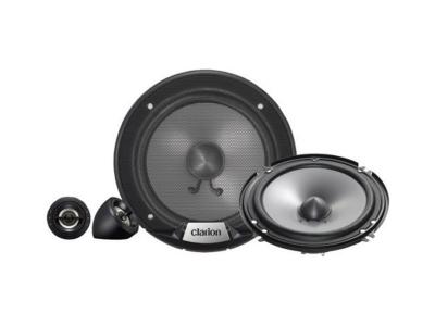 """Clarion 350W MAX. 6-1/2"""" 2-WAY COMPONENT SYSTEM SRG1623S"""