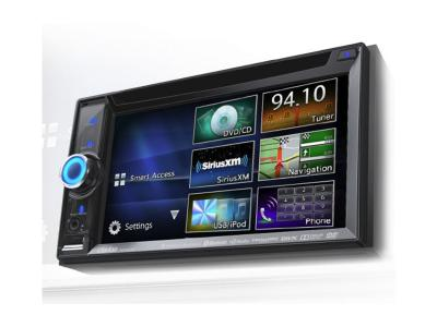 Clarion 2-DIN DVD MULTIMEDIA STATION WITH BUILT-IN NAVIGATION/SMART ACCESS NX605
