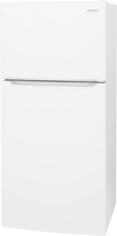 "30"" Frigidaire 18.3 Cu. Ft. Top Mount Refrigerator In White - FFTR1835VW"