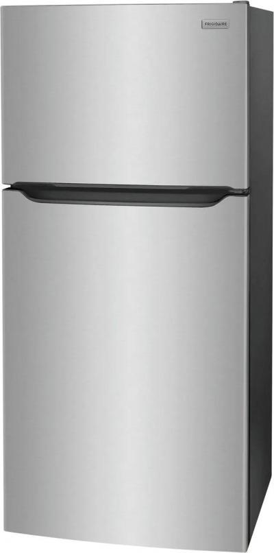"30"" Frigidaire 20.0 Cu. Ft. Capacity Top Freezer Refrigerator in Stainless Steel - FFHT2045VS"