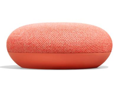 Google Smart Speaker With Built in Google Assistant In Coral - Home Mini (Coral)
