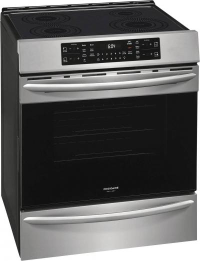 """30"""" Frigidaire Gallery 5.4 Cu. Ft. Front Control Induction Range With Air Fry - CGIH3047VF"""