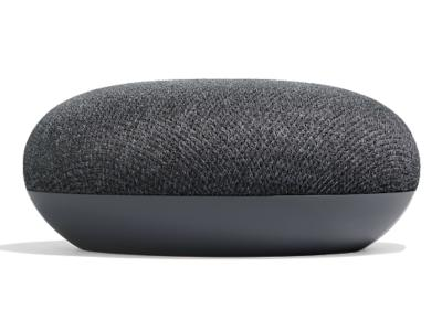 Google Smart Speaker With Built in Google Assistant In Charcoal - Home Mini (Charcoal)
