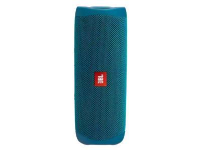 JBL JBL Flip 5 Eco Edition Portable Speaker In Ocean Blue - JBLFLIP5ECOBLUAM