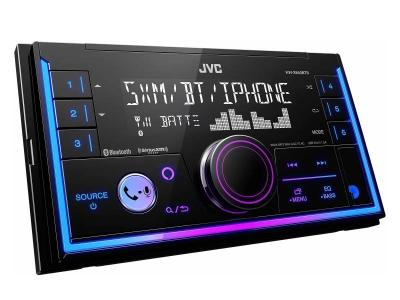 JVC 2-Din Digital Media Receiver with Bluetooth And JVC Remote App Compatibility - KW-X840BTS