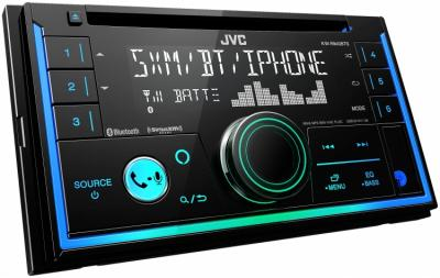 JVC 2-Din CD Receiver With Bluetooth, USB And SiriusXM - KW-R940BTS