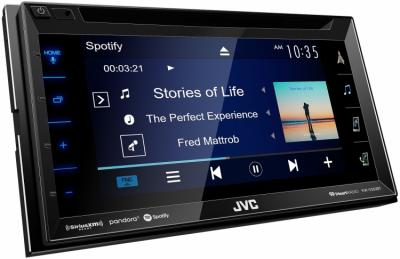 """6.8"""" JVC Multimedia Receiver Featuring Clear Resistive Touch Panel - KW-V350BT"""