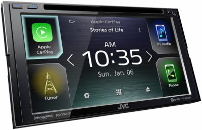"""6.8"""" JVC Multimedia Receiver Featuring Clear Resistive Touch Monitor - KW-V850BT"""