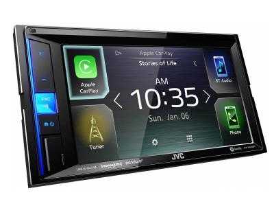 """6.2"""" JVC Digital Media Receiver featuring Clear Resistive Touch Monitor - KW-M650BT"""