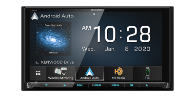 Kenwood DVD Receiver with Bluetooth And HD Radio - DDX9707S