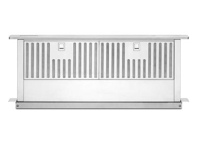"""33"""" KitchenAid Retractable Downdraft System With 600 CFM - KXD4636YSS"""
