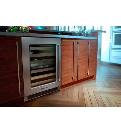 """30"""" KitchenAid Combination Wall Oven With Even-Heat True Convection (lower oven) - KOCE500EWH"""