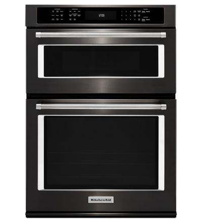 "27"" KitchenAid Combination Wall Oven - KOCE507EBS"