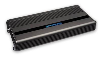 PowerBass Mono Block Compact Amplifier with 1,200 Watt High Efficiency  - XMA1205D
