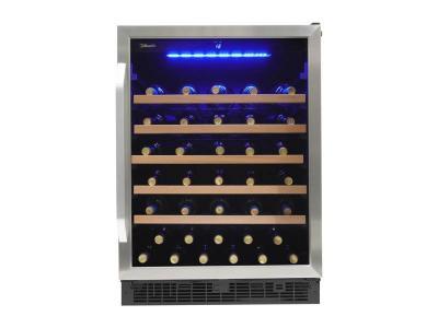 """24"""" Silhouette Single Zone Wine Cellar - SWC057D1BSS"""