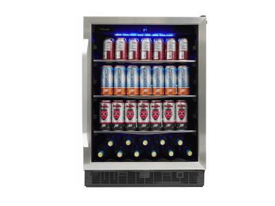 "24"" Silhouette Single Zone Beverage Center - SBC057D1BSS"