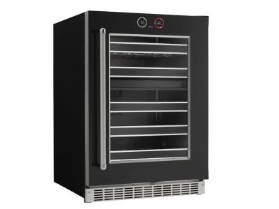 """24"""" Silhouette -With Touch Display Wine Cooler - SRVWC050R"""