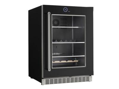 """24 """" Silhouette  Wide 5.0 Cu. Ft. Capacity Right Handed Beverage Center - SRVBC050R"""