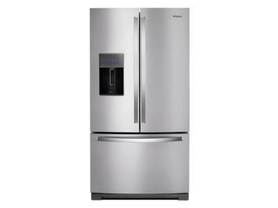 "36"" Whirlpool 27 Cu. Ft. French Door Refrigerator - WRF757SDHZ"