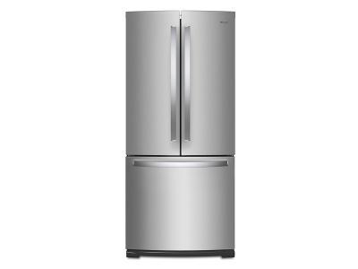 "30"" Whirlpool 20 Cu. Ft. French Door Refrigerator - WRF560SFHZ"
