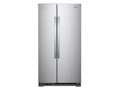 "36"" Whirlpool 25 Cu. Ft. Side-by-Side Refrigerator - WRS315SNHM"