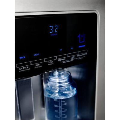 """36"""" Whirlpool 28 Cu. Ft. Side-by-Side Refrigerator - WRS588FIHZ"""
