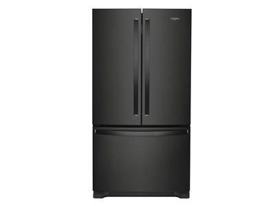 """36"""" Whirlpool 25 Cu. Ft. French Door Refrigerator with Water Dispenser - WRF535SWHB"""
