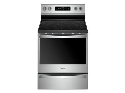 """30"""" Whirlpool 6.4 Cu. Ft. Freestanding Electric Range With Frozen Bake Technology - YWFE775H0HZ"""