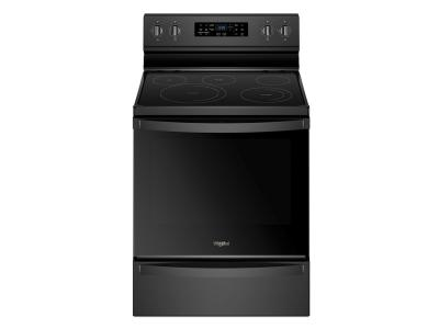 """30"""" Whirlpool 6.4 Cu. Ft. Freestanding Electric Range With Frozen Bake Technology - YWFE775H0HB"""