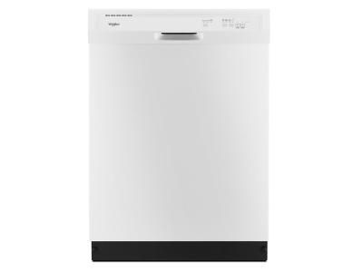 """24"""" Whirlpool Heavy-Duty Dishwasher With 1-Hour Wash Cycle - WDF330PAHW"""