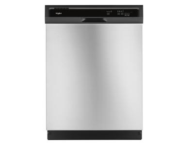 """24"""" Whirlpool Heavy-Duty Dishwasher with 1-Hour Wash Cycle - WDF330PAHS"""