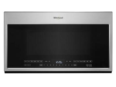 """30"""" Whirlpool 2.1 Cu. Ft. Over-the-Range Microwave With Steam Cooking - YWMH54521JZ"""