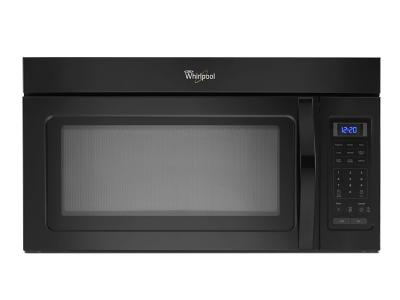 """30"""" Whirlpool  1.7 Cu. Ft. Microwave Hood Combination With Electronic Touch Controls - YWMH31017HB"""
