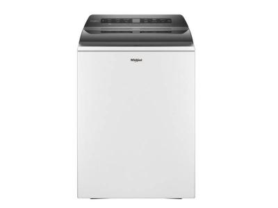 """27"""" Whirlpool 5.5 Cu. Ft. Smart Top Load Washer In White - WTW6120HW"""