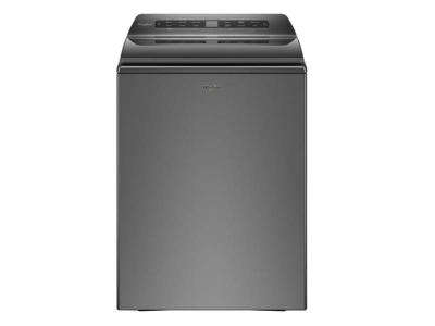 """27"""" Whirlpool 5.5 Cu. Ft. Smart Top Load Washer In Chrome Shadow - WTW6120HC"""
