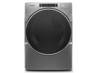 """27"""" Whirlpool 7.4 cu. ft. Front Load Gas Dryer with Steam Cycles - WGD8620HC"""