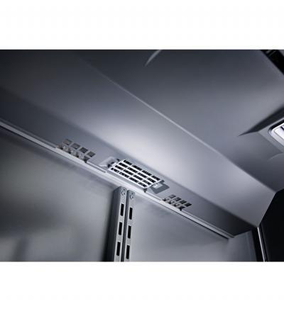 "36"" KitchenAid 20.9 Cu. Ft.  Built-In Stainless Bottom Mount Refrigerator with Platinum Interior Design - KBBR306ESS"