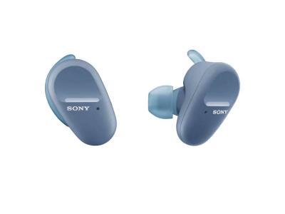 Sony Truly Wireless Noise-Cancelling Headphones for Sports in Blue - WFSP800N/L