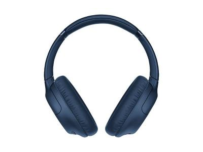 Sony Over-Ear Noise Cancelling Bluetooth Headphones in Blue - WHCH710N/L