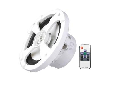 PowerBass 2-Way Marine Speakers with Built-in LED Lights and Remote  - XL62M
