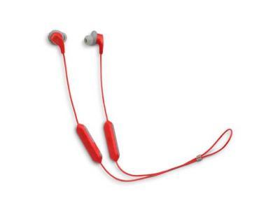 JBL Sweatproof Wireless In-Ear Sport Headphones in Red - RunBT (R)