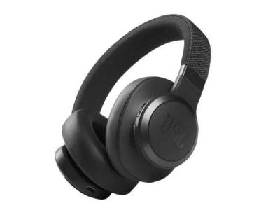 JBL Wireless Over-ear Noise Cancelling Headphones in Black - Live 660NC (B)