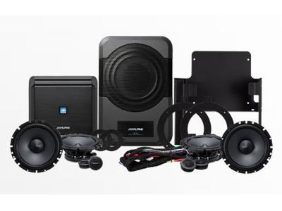 Alpine 320 Watt Sound System for Jeep Wrangler Unlimited - PSS-21WRA