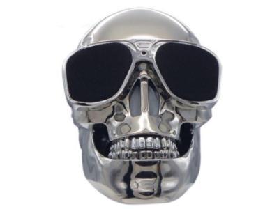 Escape Wireless Speaker In Skull Design With Fm Radio and Microphone - SPBT992