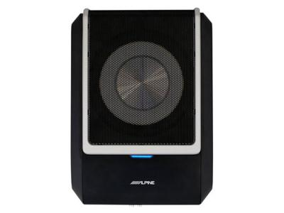 Alpine Powered Subwoofer with Built-In 4-Channel DSP Amplifier - PWD-X5